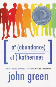 An Abundance of Katherines book cover