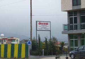 Decent Furniture sign