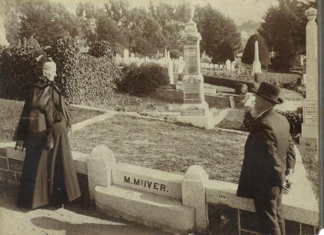 Murdoch McIver grave