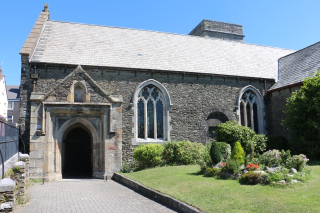 Parts of St. Stephens & St. Faith church remain from the 12th century.