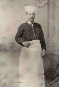 Jean Ramon deMasserano, 1837-1898. His cooking skills took him around the world.