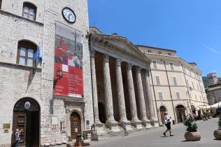 Temple of Minerva, exterior