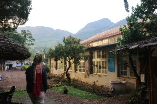 There is a school and clinic here for the workers, also a tea shop.